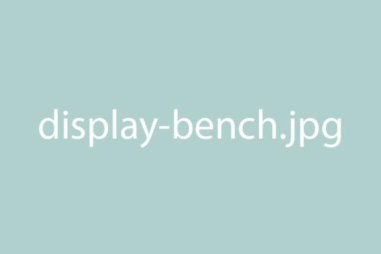 Display Bench